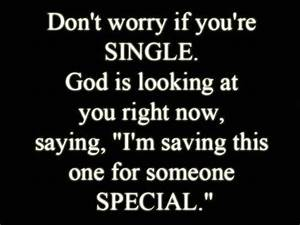"""Waiting for someone special... 