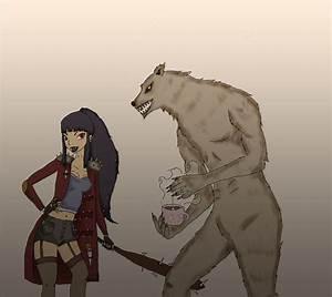 Vampire and Werewolf by Linuya on DeviantArt