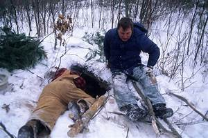 Black Bear Den | Wildlife managers at black bear den near ...