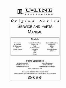 Ice Maker Wiring Diagram Manual