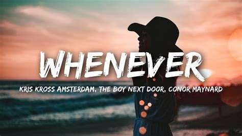 Kris Kross Amsterdam X The Boy Next Door