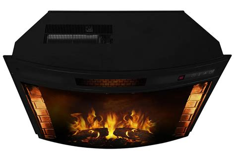 Elwood 23 Inch Curved Electric Fireplace Insert