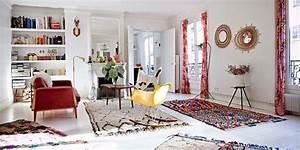 Tapis Deco Salon : tapis berb re 14 id es d co pour le salon ~ Teatrodelosmanantiales.com Idées de Décoration
