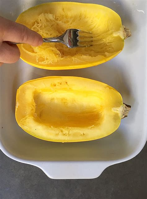 cooking squash how to cook spaghetti squash in the microwave in just a few easy steps
