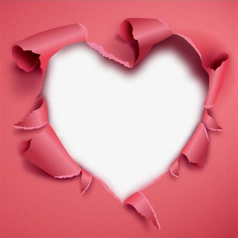 vector heart pepero hole gules decorate png