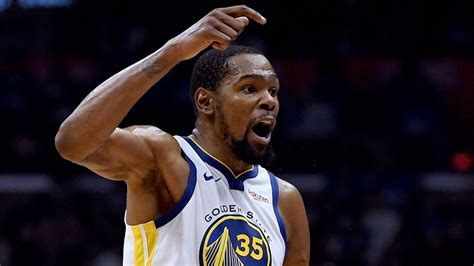 NBA Playoffs 2019: Kevin Durant's 38-point first half ...