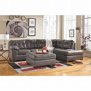 alliston gray 2pc sectional w raf chaise 0n2 201rc 2pc With 2pc sectional sofa chaise