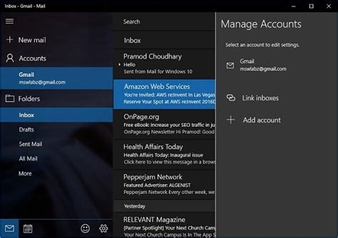how to pin gmail or outlook to start menu in windows 10 techwayz