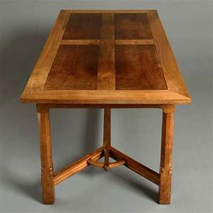 arts and crafts dining table at 1stdibs With arts and crafts dining room furniture