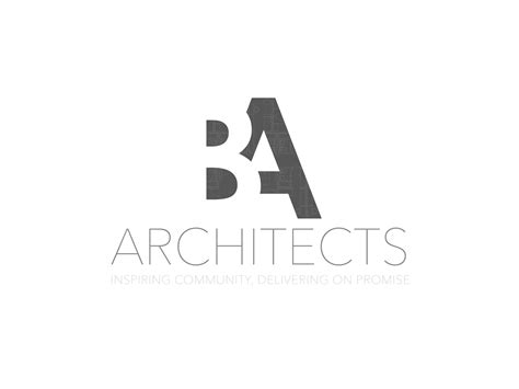 Construction Logo Design For Ba Architects ( May Also