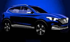 MG 'ZS' compact SUV teased for Guangzhou motor show