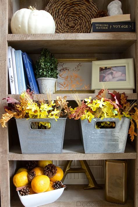 welcoming fall   updated entry   bookcase