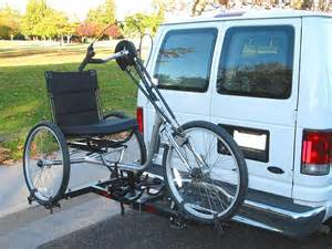 Car Carrier for Recumbent Trikes Racks