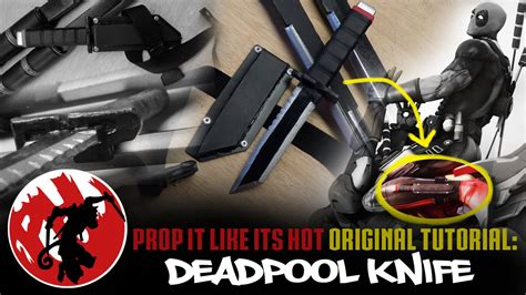 Deadpool Knife Tutorial