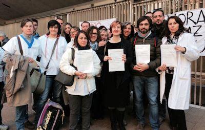Fondazione Salvatore Maugeri Pavia by 19 11 2014 Presidio Al Pirellone Dei Lavoratori