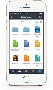 Readdle39s documents 5 focuses on ios 7 redesign and app for Iphone app store documents
