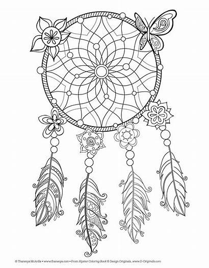 Aesthetic Coloring Hippie Printable Animals Mcardle Popular