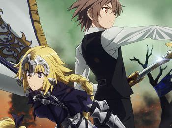 fate series upcoming anime fate apocrypha tv anime premieres july 2 new visual