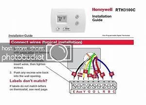 Honeywell Rth3100c With Heil Heat Pump