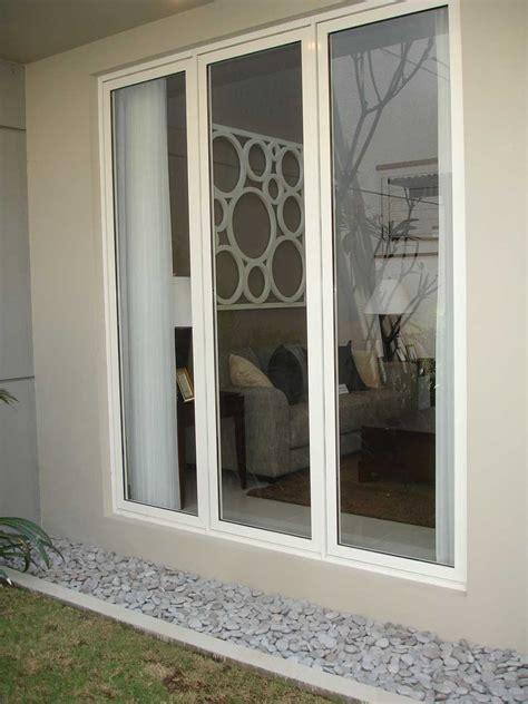 design jendela alumunium minimalis pintu minimalis