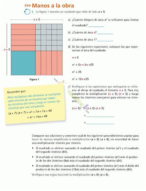 Estamos interesados en hacer de este encuentre y paco el chato secundaria 2 matemáticas 2020 pag 95. MATEMATICAS III TERCERO DE SECUNDARIA EJERCICIOS ...