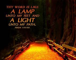 61b0d light unto my path jesus the almighty With lamp to my feet and a light to my path