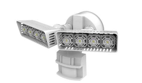 sansi led security motion sensor outdoor light review
