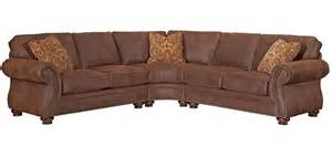 broyhill laramie loveseat sectional w wedge