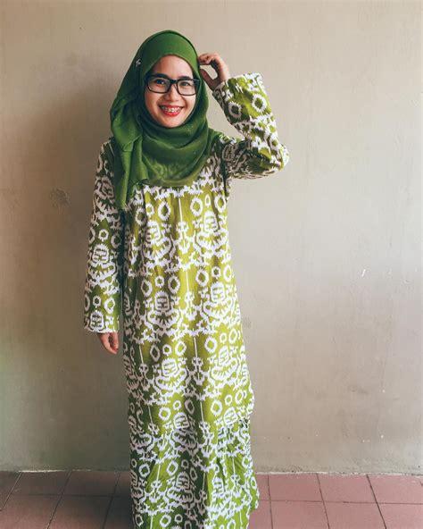 Gambar model baju batik modern. Gambar Baju Kurung Moden Batik Sarawak - BAJUKU
