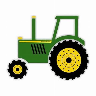 Clipart Tractor Tractors Cliparts Deere John Clip