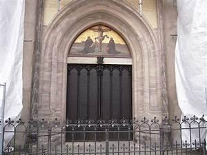 43 Castle church - 95 Theses door   evajoel   Flickr