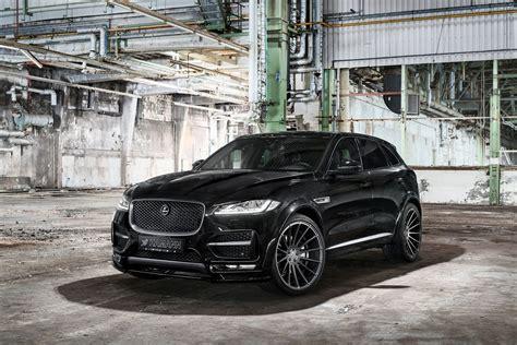 All Black Sinister Jaguar F Pace Gets Custom Parts Carid