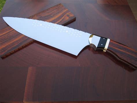 made kitchen knives hand crafted chef s knife by chiradyne custommade com