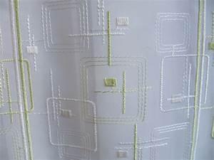 Scheibengardinen 100 Cm Hoch : scheibengardine wei gr n stick muster 45 cm hoch ~ Bigdaddyawards.com Haus und Dekorationen