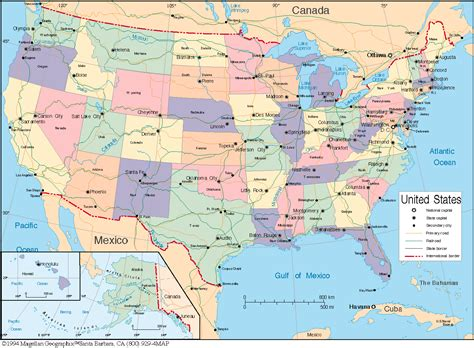 maps usa map great lakes