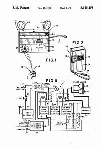 Patent Us5148158 - Emergency Lighting Unit Having Remote Test Capability