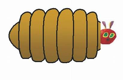 Caterpillar Hungry Very Clipart Cacoon Cocoon Butterfly