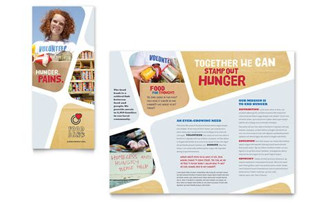 Volunteer Brochure Template Food Bank Volunteer Brochure Template Word Publisher