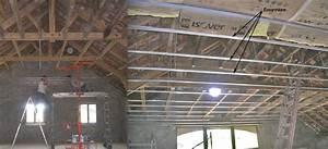 Suspentes Placo Tige Filetée : le faux plafond de l tage a la boh me r novation d ~ Dailycaller-alerts.com Idées de Décoration
