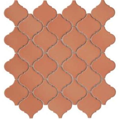 Home Depot Merola Lantern Ceramic Tile by Merola Tile Lantern Cotto 12 1 2 In X 12 1 2 In X 5 Mm