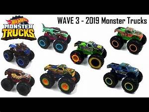Wheels And Waves 2019 : 2019 hot wheels monster trucks wave 3 new designs and decos youtube ~ Medecine-chirurgie-esthetiques.com Avis de Voitures