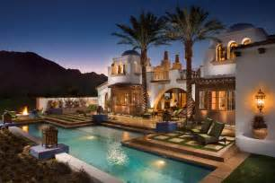 luxury mediterranean home plans hacienda homes this beautiful hacienda style home is located at 80185 via