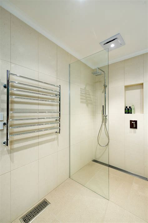 Towel Rack Ideas For Bathroom by Bright Heated Towel Rack In Bathroom Contemporary With