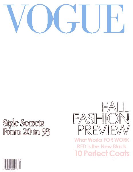 Make Your Own Magazine Cover Template by 18 Blank Magazine Cover Design Images Make Your Own