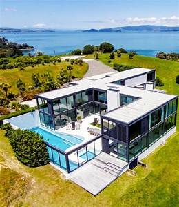 U, Shaped, Container, House, With, Pool