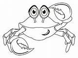 Crab Colored Coloring Dreamstime Background Illustrations Vectors sketch template