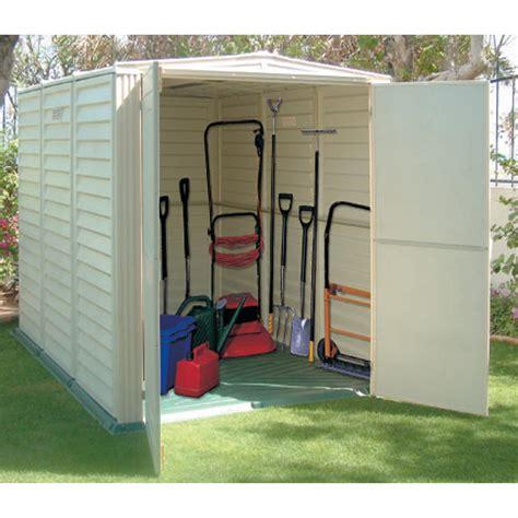 yardsaver shed floor kit duramax 174 5x8 yardsaver vinyl shed with floor 130914