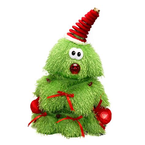 dancing christmas tree hat tree animation toys