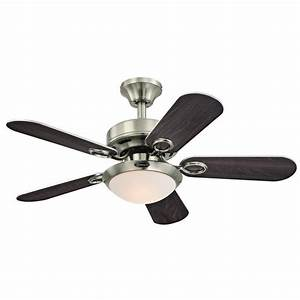 Westinghouse Cassidy 36 In  Indoor Brushed Nickel Ceiling Fan-7203200