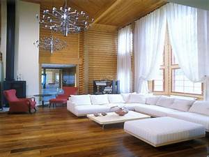 Small modern log cabin interior modern log cabin interior for Log homes interior designs 2